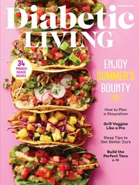 Diabetic Living Magazine | 6/1/2020 Cover