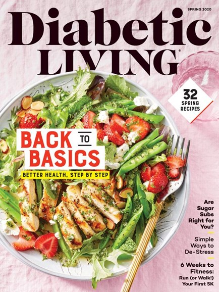 Diabetic Living Cover - 3/1/2020