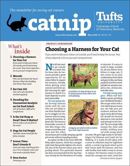 Catnip Cover - 5/1/2020