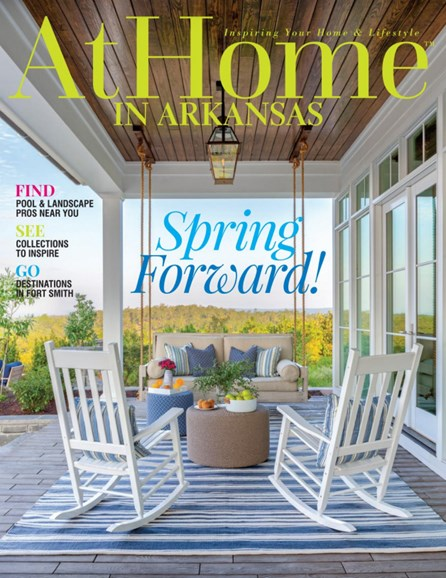 At Home In Arkansas Cover - 3/1/2020