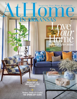 At Home In Arkansas Magazine | 5/2020 Cover