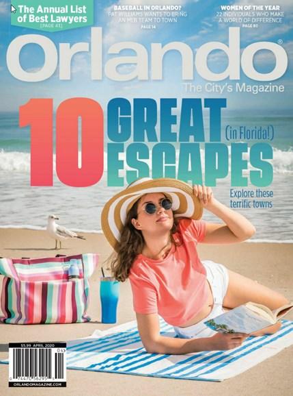 Orlando Magazine Cover - 4/1/2020