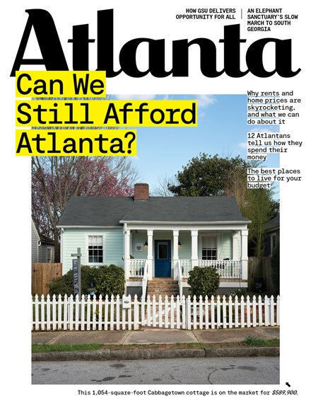 Atlanta Magazine Cover - 4/1/2020