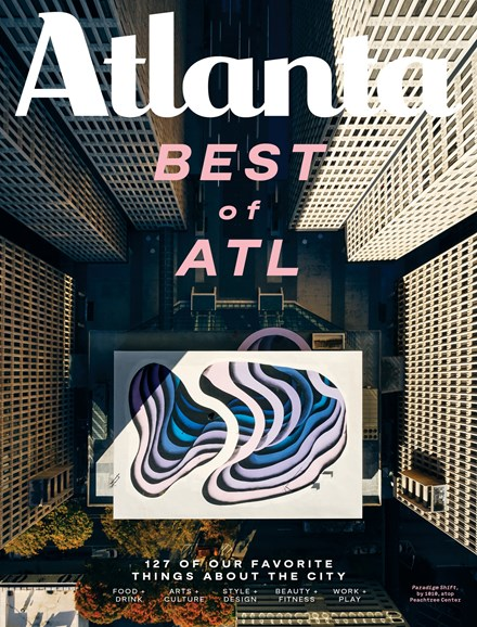 Atlanta Magazine Cover - 12/1/2019
