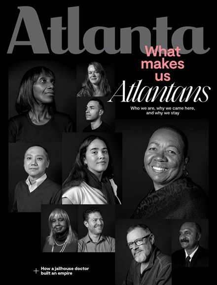 Atlanta Magazine Cover - 1/1/2020