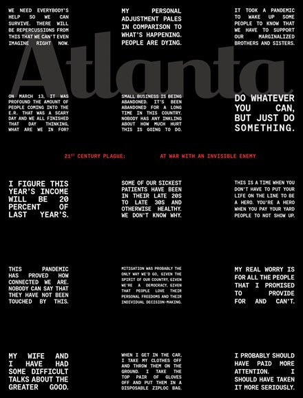 Atlanta Magazine Cover - 5/1/2020