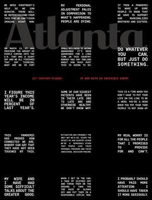 Atlanta Magazine | 5/2020 Cover