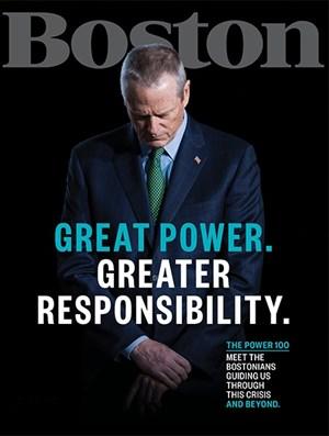 Boston Magazine   5/2020 Cover