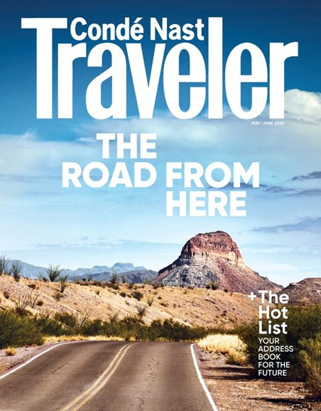 Condé Nast Traveler Cover - 5/1/2020