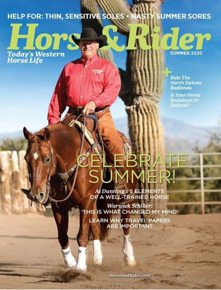 Horse & Rider Cover - 6/1/2020
