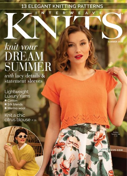 Interweave Knits Cover - 6/1/2020