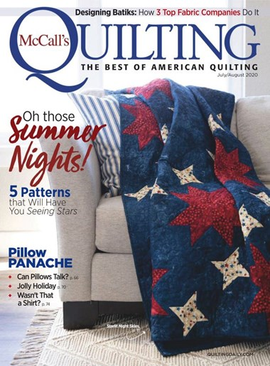 McCall's Quilting | 7/2020 Cover
