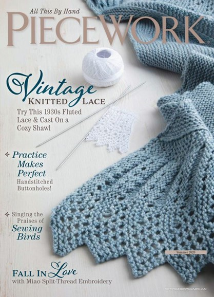 Piecework Cover - 6/1/2020