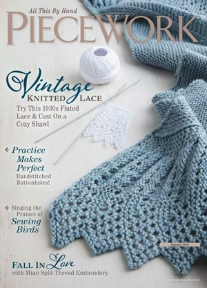 Piecework Magazine | 6/2020 Cover