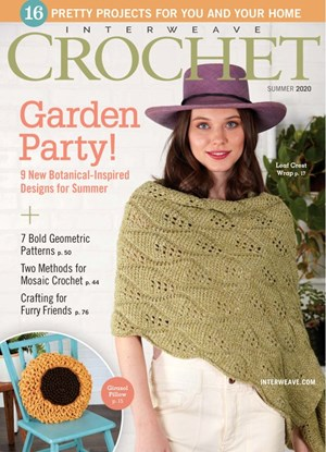 Interweave Crochet Magazine | 6/2020 Cover