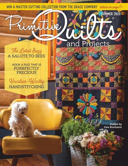 Primitive Quilts & Projects Cover - 6/1/2020
