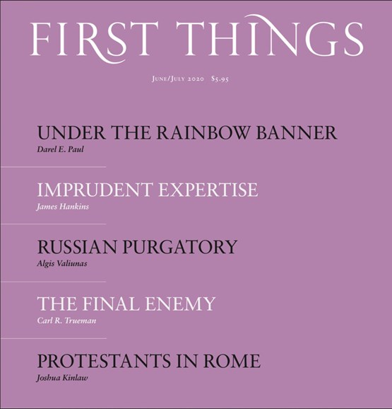 First Things Cover - 6/1/2020