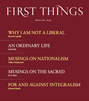 First Things Magazine   3/2020 Cover