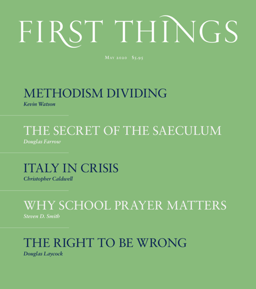 First Things Cover - 5/1/2020
