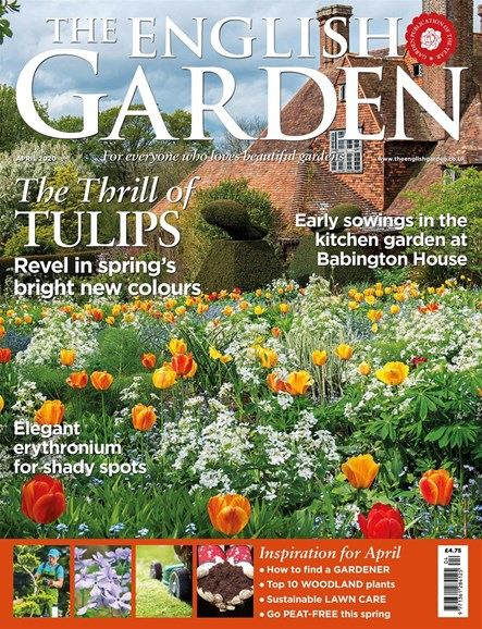 The English Garden Cover - 4/1/2020