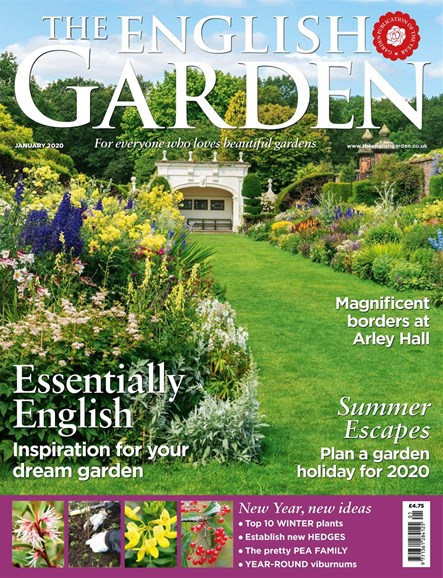 The English Garden Cover - 1/1/2020