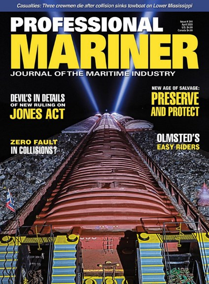 Professional Mariner Cover - 4/1/2020