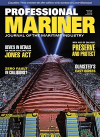 Professional Mariner Magazine | 4/2020 Cover