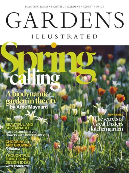 Gardens Illustrated Cover - 4/1/2020