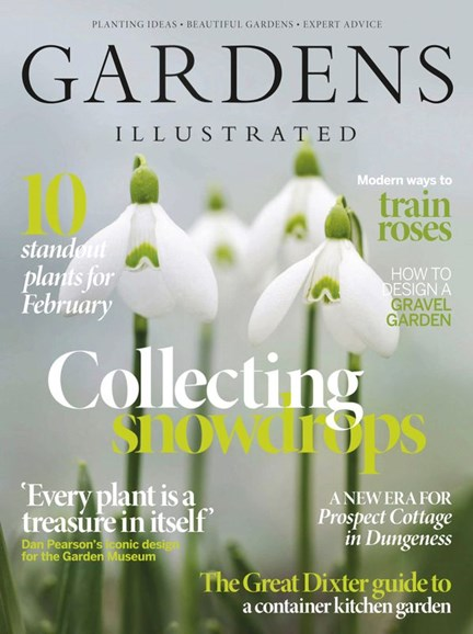 Gardens Illustrated Cover - 2/1/2020