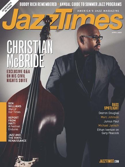 JazzTimes Cover - 4/1/2020