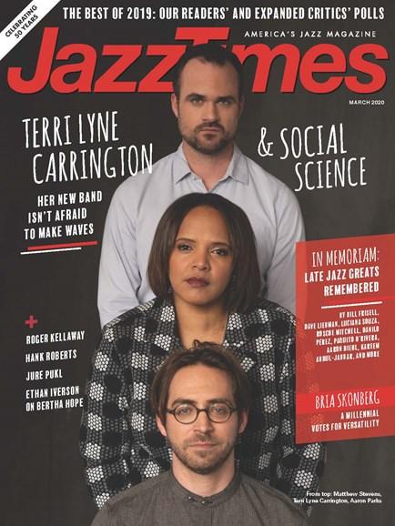 JazzTimes Cover - 3/1/2020