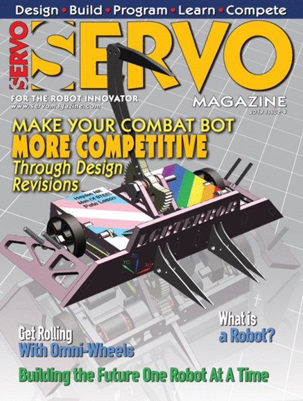 Servo Magazine Cover - 7/1/2019