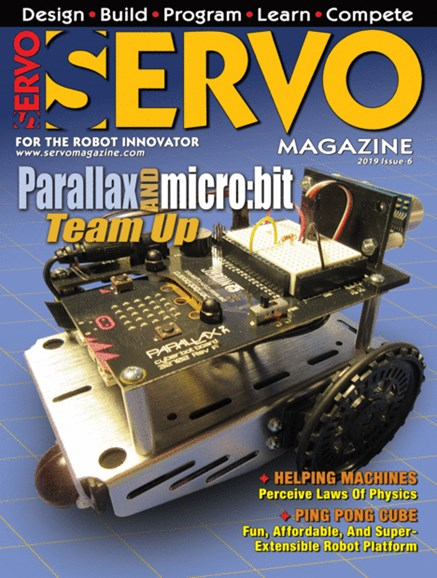 Servo Magazine Cover - 11/1/2019