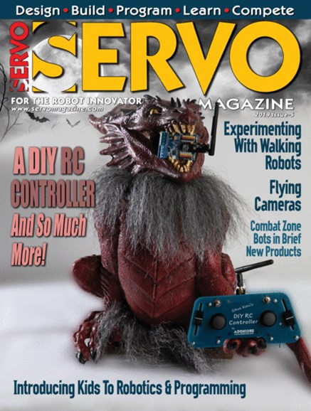 Servo Magazine Cover - 9/1/2019