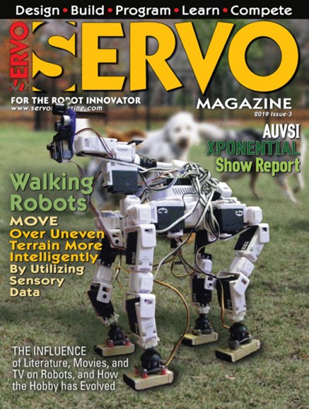 Servo Magazine Cover - 5/1/2019