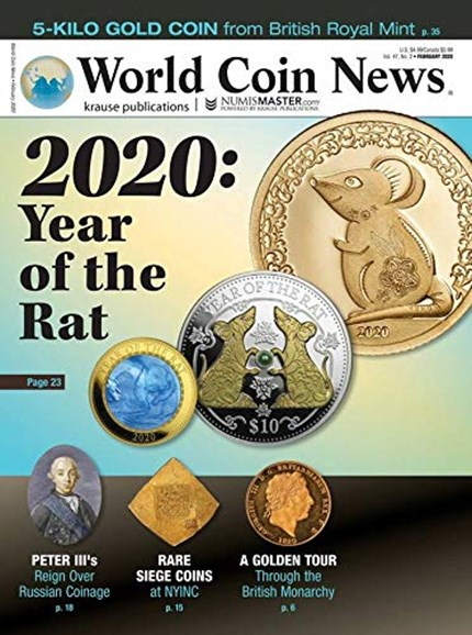 World Coin News Cover - 2/1/2020