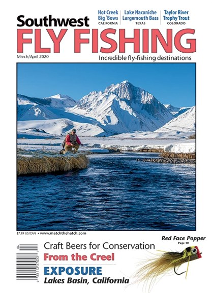 Southwest Fly Fishing Cover - 3/1/2020