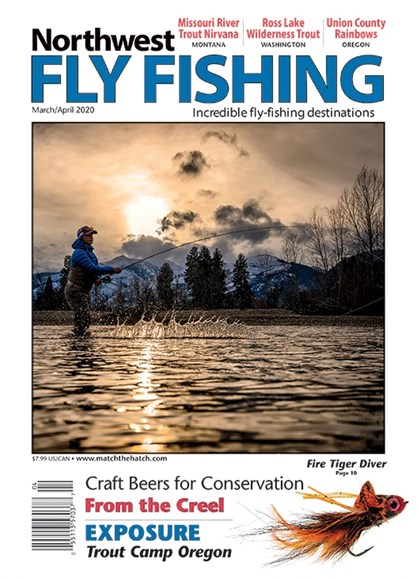 Northwest Fly Fishing Cover - 3/1/2020