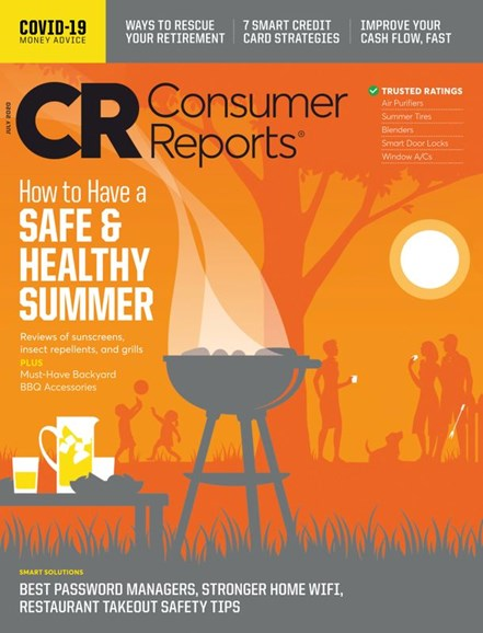 Consumer Reports Cover - 7/1/2020