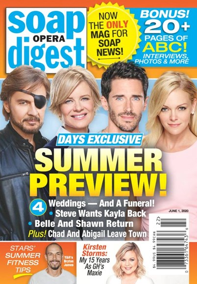 Soap Opera Digest Cover - 6/1/2020