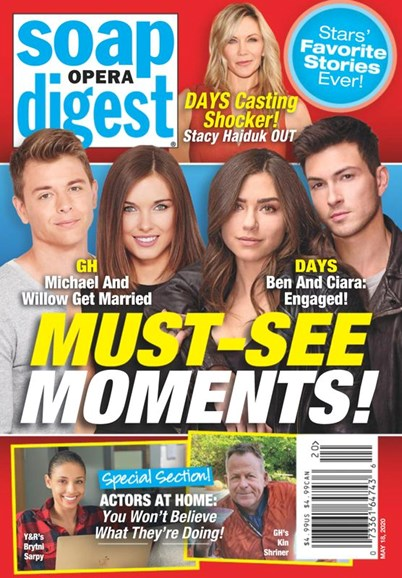 Soap Opera Digest Cover - 5/18/2020