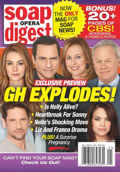 Soap Opera Digest Cover - 5/25/2020