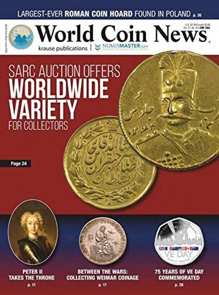 World Coin News Cover - 6/1/2020