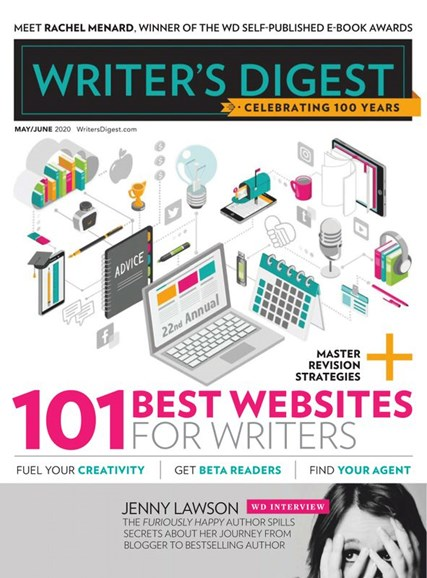 Writer's Digest Cover - 5/1/2020