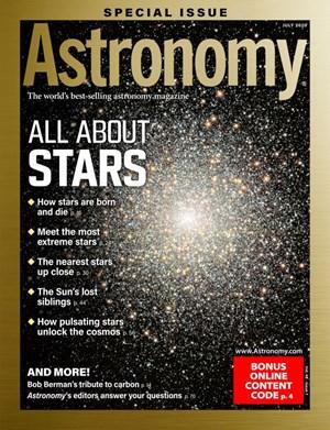 Astronomy Magazine   7/2020 Cover