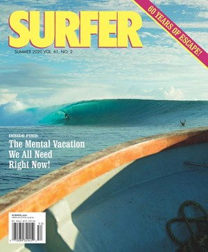 Surfer Magazine | 6/1/2020 Cover