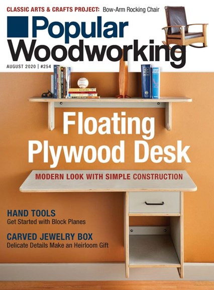 Popular Woodworking Cover - 8/1/2020