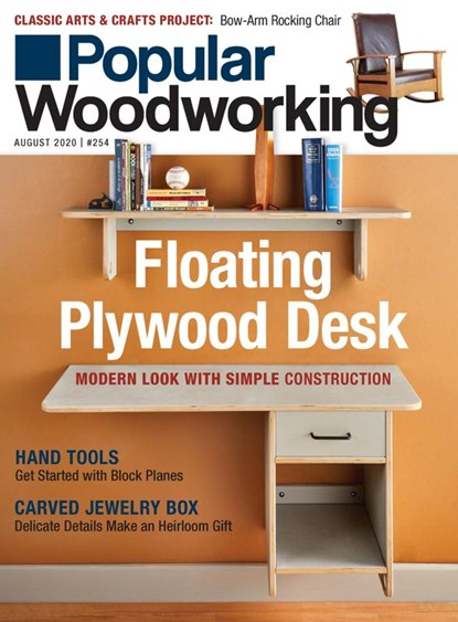 Popular Woodworking Magazine | 8/2020 Cover
