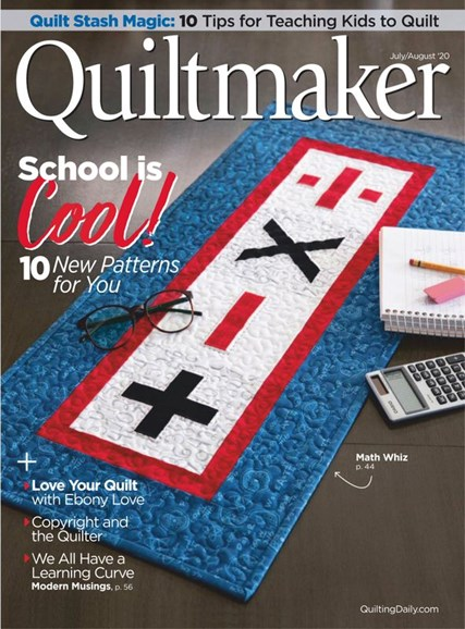 Quiltmaker Cover - 7/1/2020