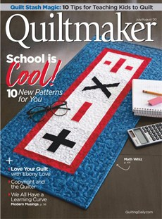 Quiltmaker | 7/2020 Cover